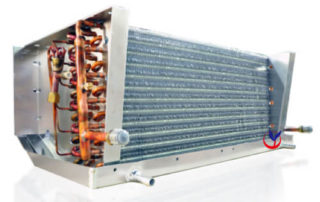 Truck refrigeration coil