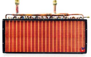 copper fin heat exchanger
