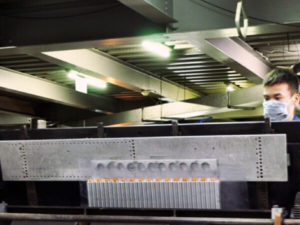 bending of hvac coil manufacturing process